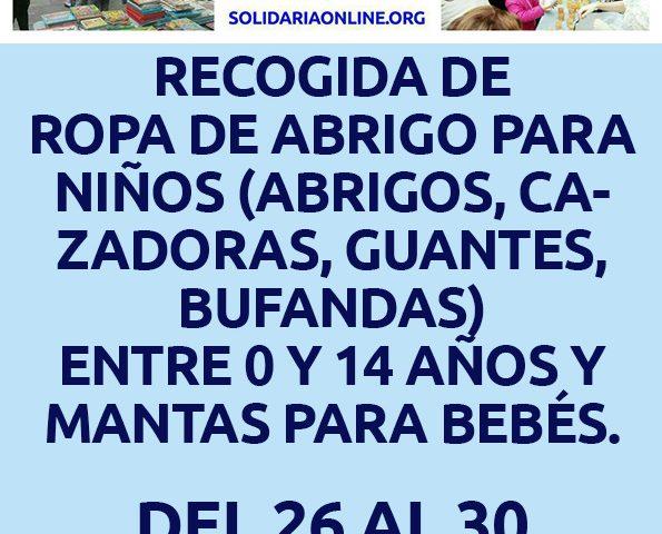 Zaragoza recogida solidaria de ropa de abrigo infantil - Ropa infantil zaragoza ...